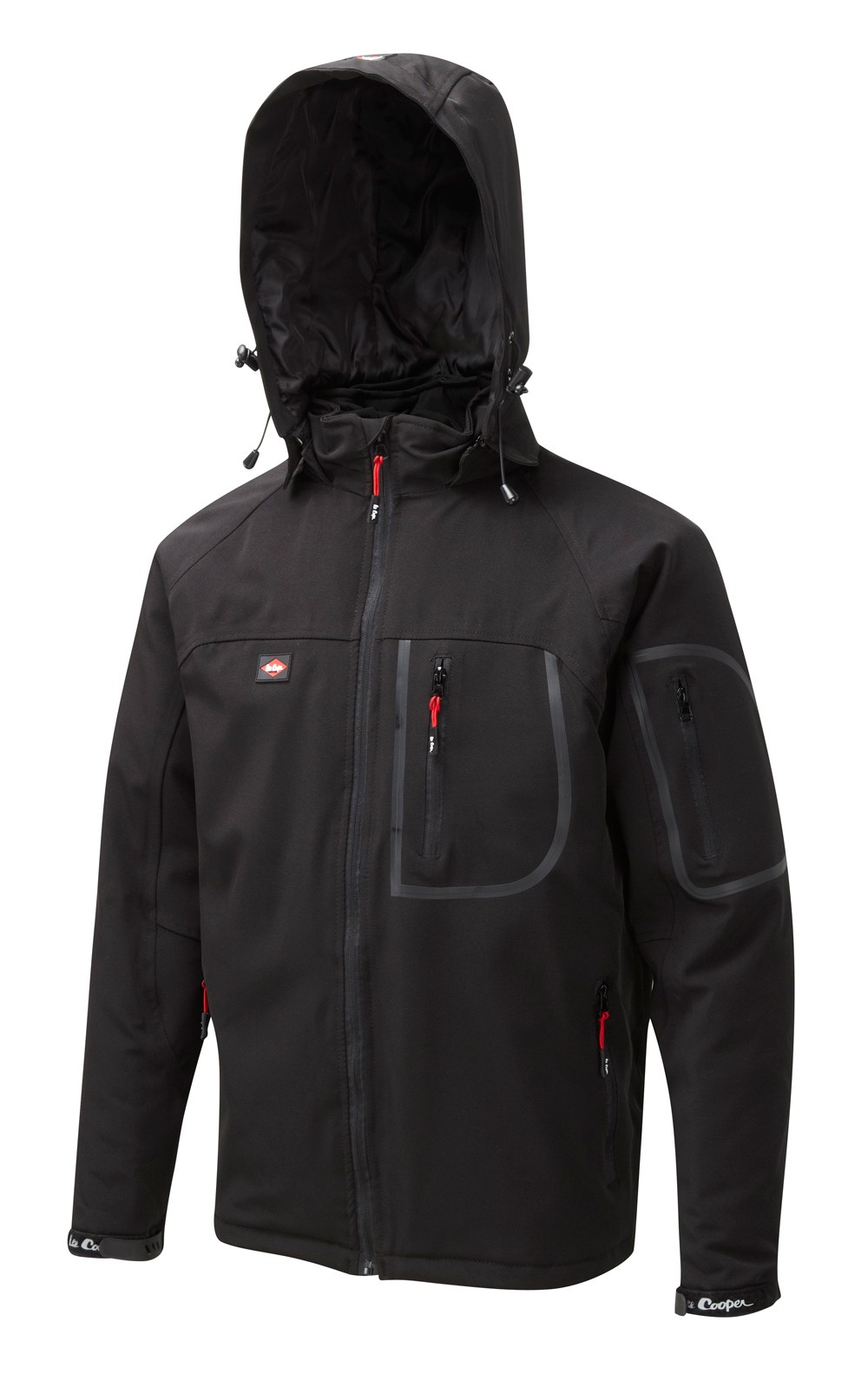 Softshell Lined Jacket with Knitted Panels