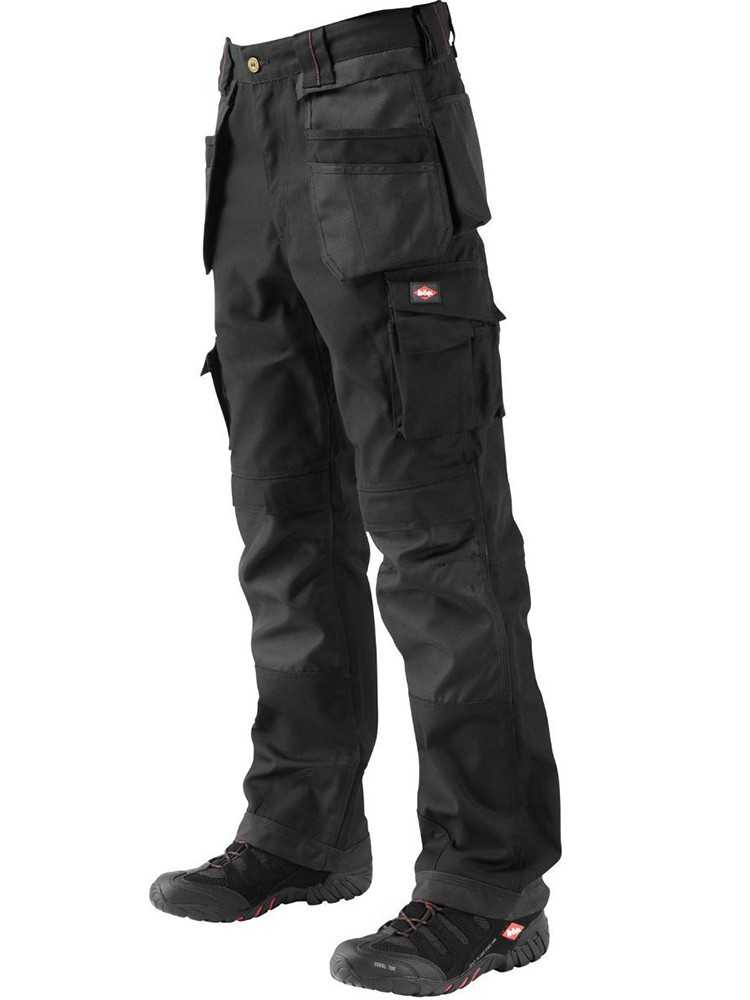 210 trousers black with holster pockets