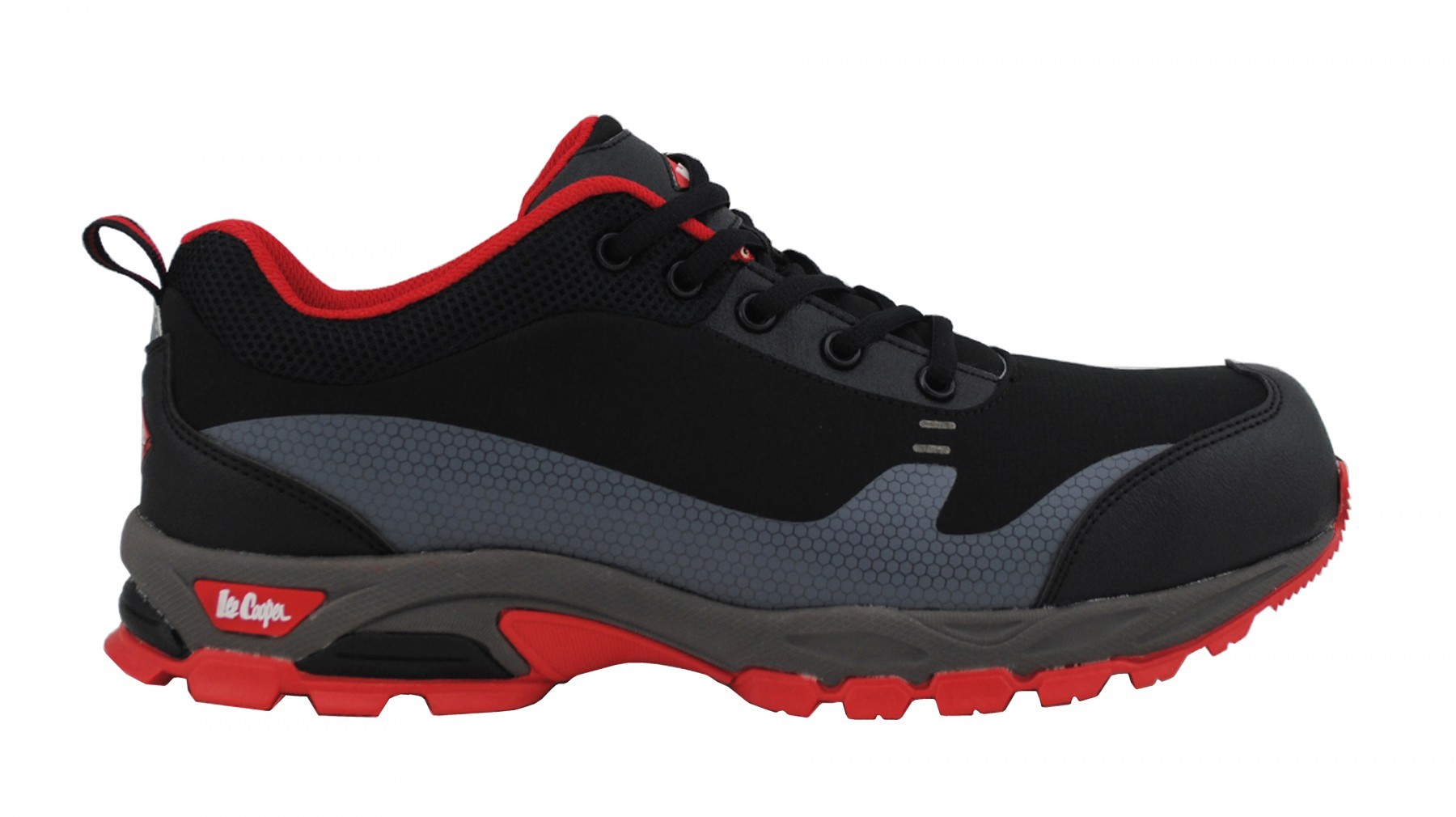 SOFTSHELL SAFETY SHOE SIDE VIEW