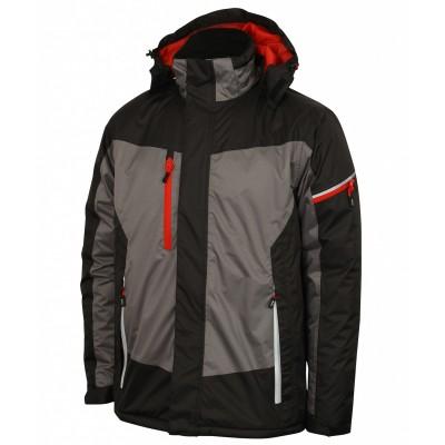 lee cooper waterproof jacket with reflective trims