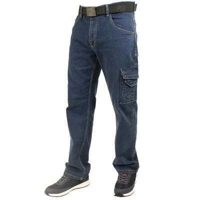 STRETCH DENIM CARPENTER JEANS